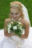 Shoulder veils are short veils