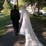 Cathedral veil - Mantilla Veil