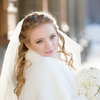 Feather and Faux Fur Wedding Accessories
