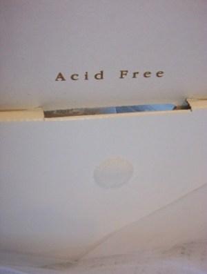 acid free wedding dress box