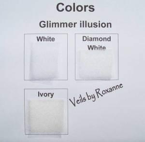 Colors of sparkle illusion
