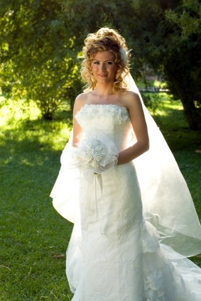 A chapel length veil is floor length