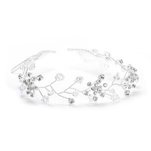 Hair vine in silver