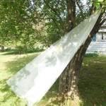 Drop Veil in diamond white