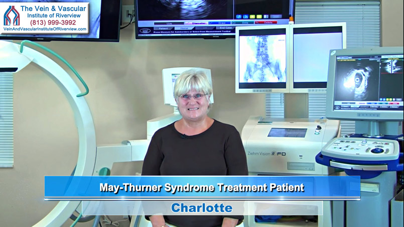 IVUS Intravascular Ultrasound used for May-Thurner Syndrome Treatment in Riverview FL