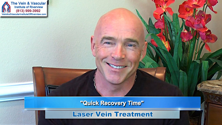 Riverview Laser Vein Treatment Patient at The Vein and Vascular Institute of Riverview