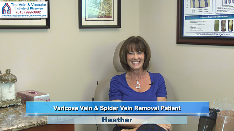 Riverview Varicose Veins Treatment Patient at The Vein and Vascular Institute of Riverview