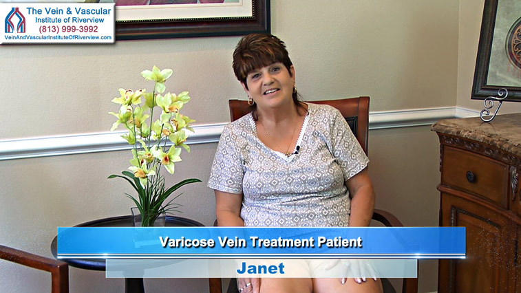 Varicose Vein Treatment Riverview FL Patient at Vein and Vascular Institute of Riverview FL