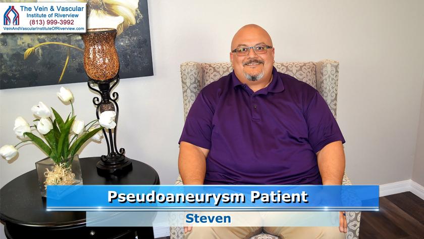 Pseudoaneurysm Patient