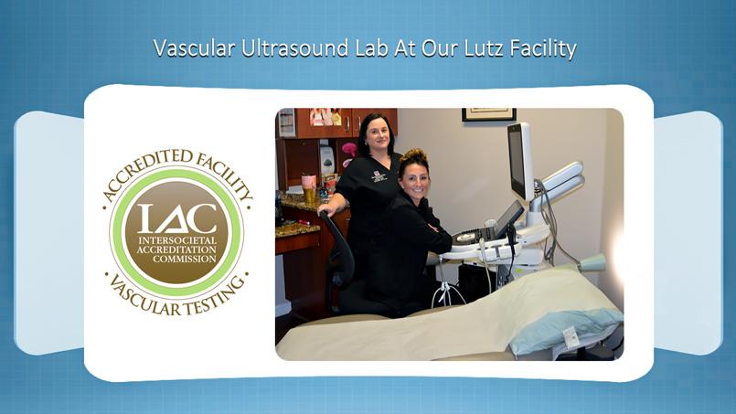 Lutz Vascular Ultrasound Lab Vein and Vascular Institute
