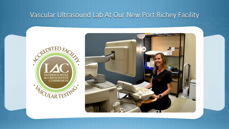 New Port Richey Florida Vascular Ultrasound Lab Vein and Vascular Institute