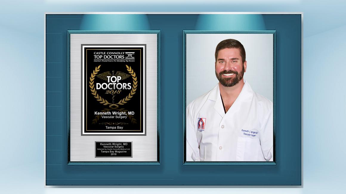 Dr Ken Wright Top Doctor Tampa 2018