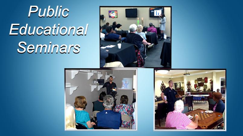 The Vein and Vascular Institute Presenting At Public Educational Seminars