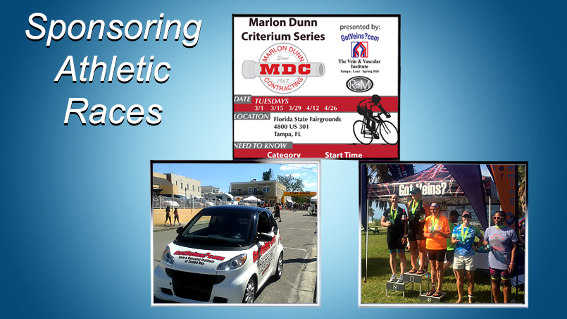 The Vein and Vascular Institute Sponsor Of Community Athletic Races