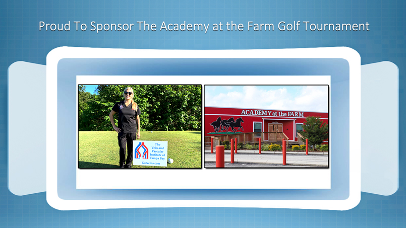 The Vein and Vascular Institute Sponsor of The Academy at the Farm Golf Tournament in Dade City Florida