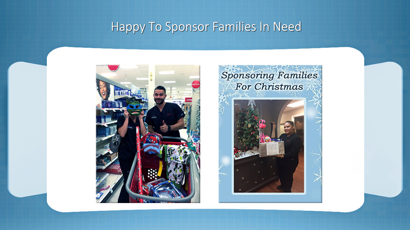 The Vein and Vascular Institute Sponsoring Families In Need