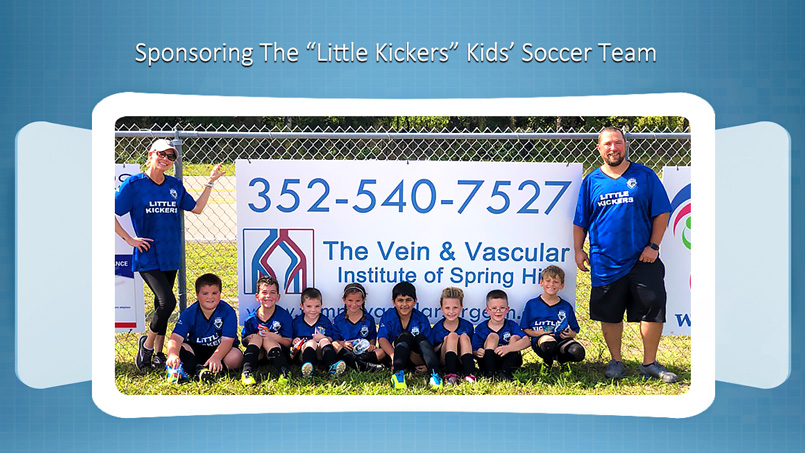 The Vein and Vascular Institute Sponsoring Little Kickers Kids Soccer Team
