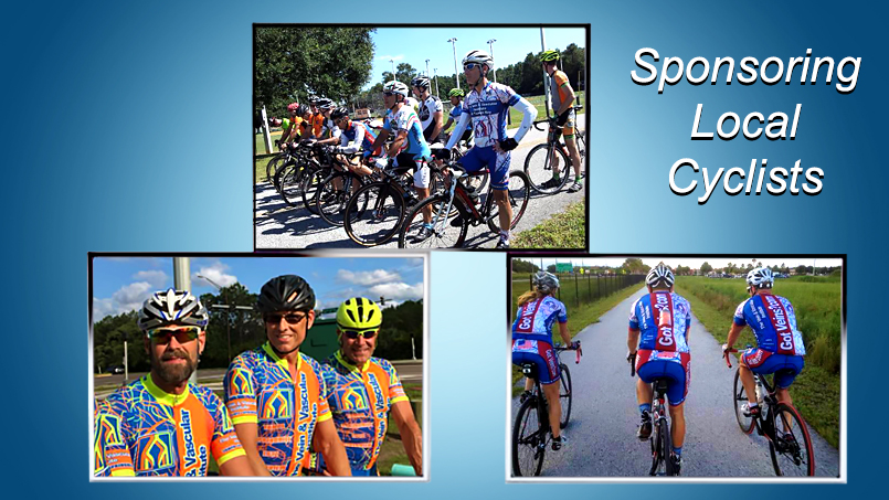 The Vein and Vascular Institute Sponsoring Local Community Cyclists
