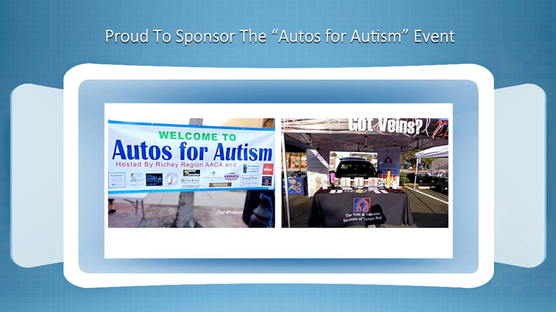 The Vein and Vascular Institute Sponsoring The Autos For Autism Charity Event