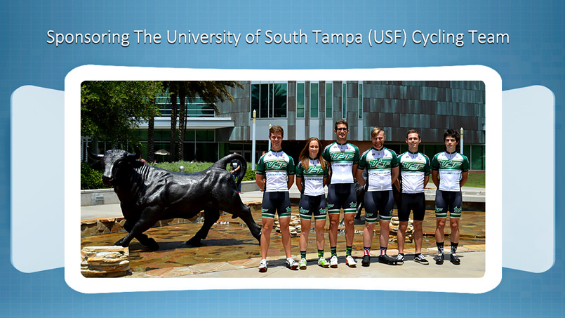 The Vein and Vascular Institute Sponsoring The USF Cycling Team