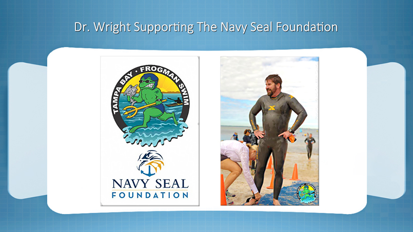 The Vein and Vascular Institute Vascular Surgeon Dr Wright Supporting The Navy Seal Foundation