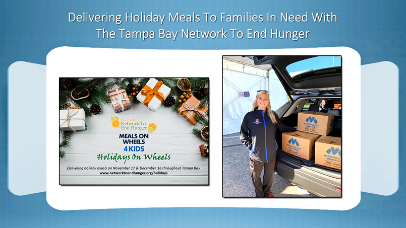 The Vein and Vascular Institute Donating Holiday Meals To Families