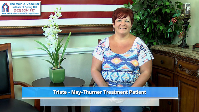 May-Thurner Syndrome Treatment Using IVUS Intravascular Ultrasound Spring Hill FL