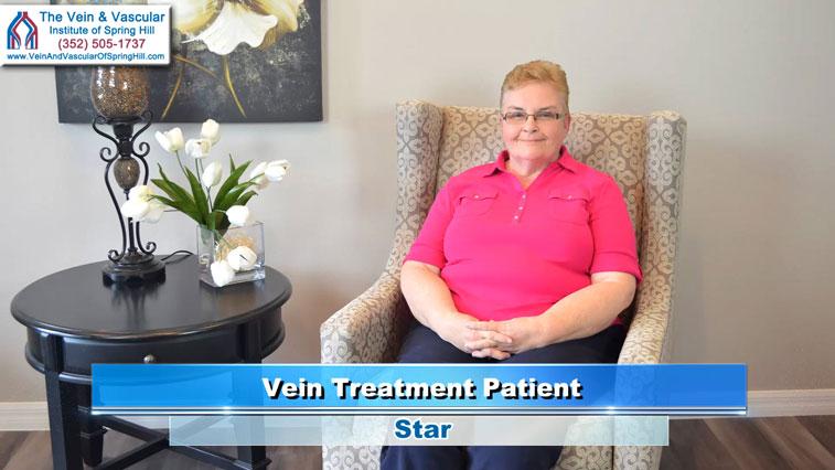 Laser Vein Removal Spring Hill FL Patient Talks About Vein Surgery With Vascular Surgeon Brandt Jones