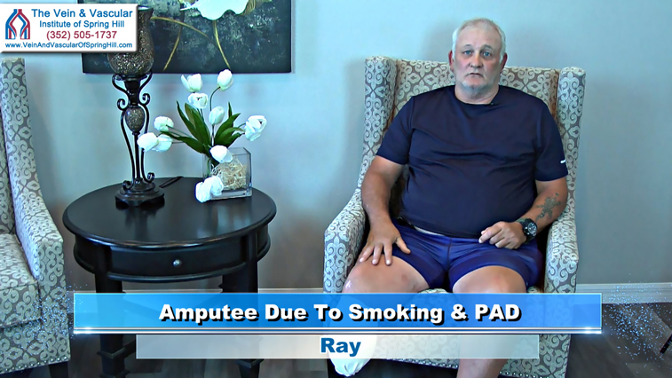 Peripheral Artery Disease Treatment Patient Ray Review of Spring Hill Florida Vascular Surgeon Dr Goldbach