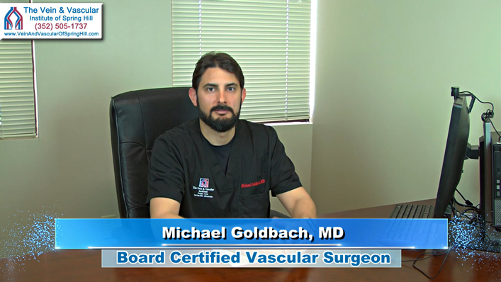 Laser Vein Treatment In Spring Hill FL For Venous Insufficiency Explained by Vascular Surgeon Dr. Goldbach