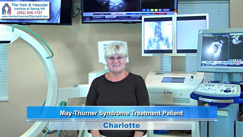 Iliac Vein Compression Treatment Patient Spring Hill Review