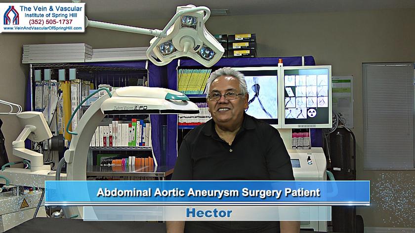 Spring Hill FL Aneurysm Surgery Patient Review