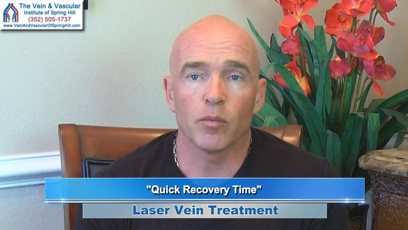 Varicose Veins Treatment Patient Spring Hill FL