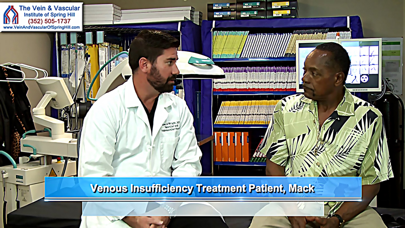 Venous Insufficiency Treatment Patient Review in Spring Hill