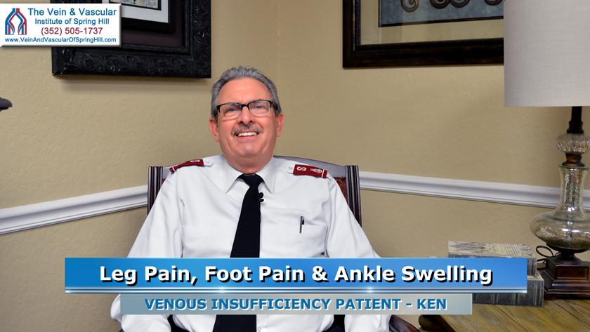 Leg Pain Venous Insufficiency Spring Hill FL