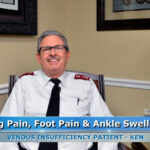 Venous Disease Treatment in Spring Hill Florida Using Laser Vein Treatment Improved Ken's Quality of Life