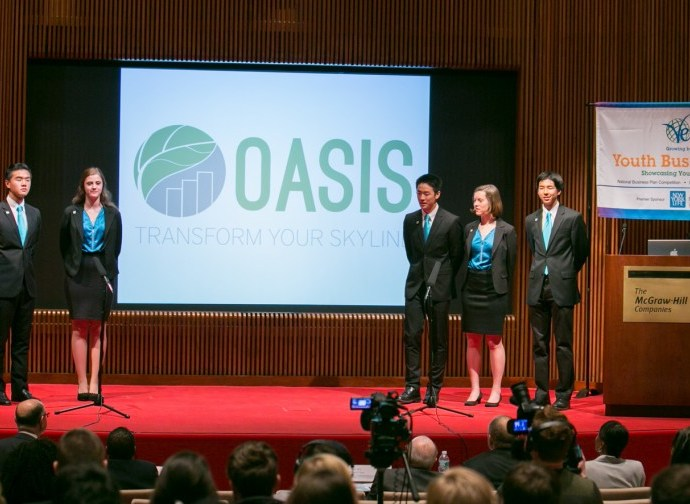 Virtual Enterprises International's National Business Plan Competition - 1st Place - Oasis (South Pasadena, CA)
