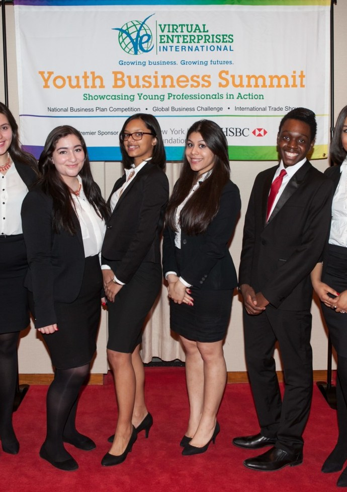 Virtual Enterprises International's National Business Plan Competition - 3rd Place - T-Squared (New York, NY)