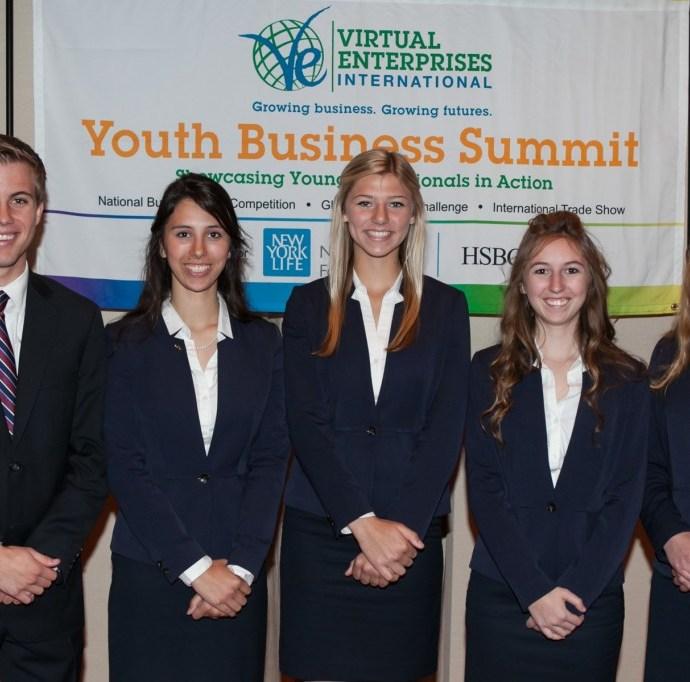 Virtual Enterprises International's National Business Plan Competition - 4th Place -West Coast Races (Murrieta, CA)