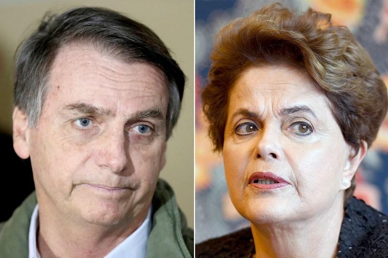 Dilma aciona STF por vídeo em que Bolsonaro a compara a 'cafetina' | VEJA