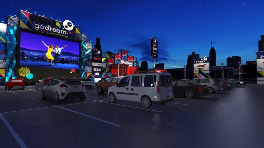 Estacionamento do BarraShopping terá drive-in com filmes, shows e peças |  VEJA RIO