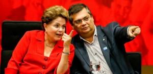 presidenta-dilma-governador-do-maranhao-flavio-dino