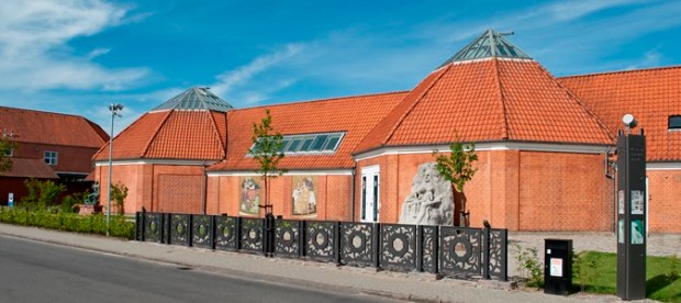 The Vejen Art Museum's accessible entrance
