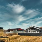 Vacacation homes in Rindby at the small island Fanoe in the wadden sea, Denmark