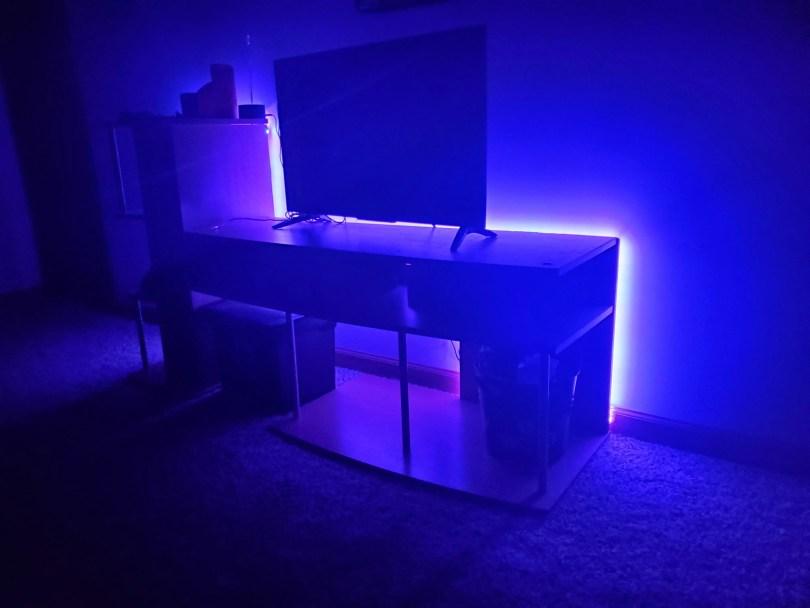 Nexlux LED Lights in Purple Color at Vigilant's House of Vekhayn.com