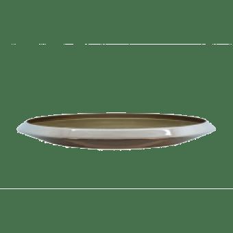 Plate Aluminium, grey outside