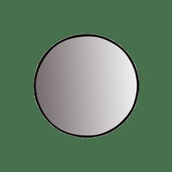 Dott Mirror Black Med