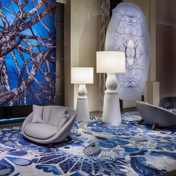 Delft Blue Carpet
