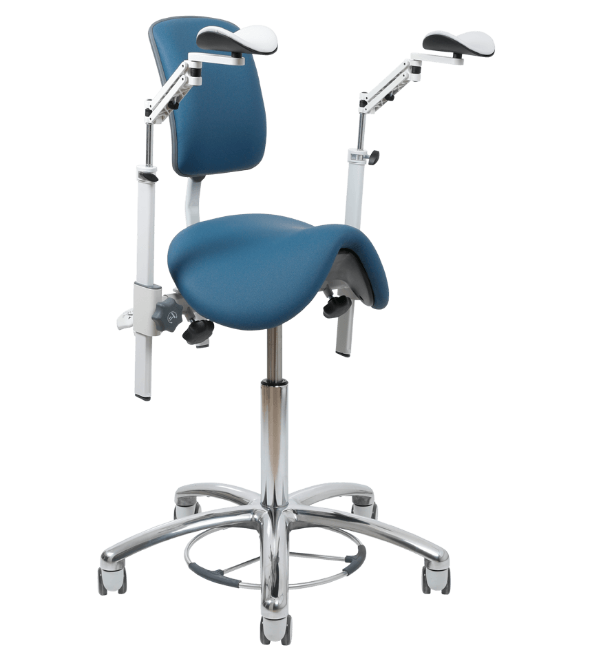 Dental Chairs Vela Assist Dental Chair Saddle Stool Danish Design Durability