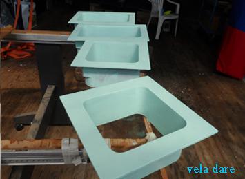 Peindre les cadres de fenêtre (juin 2015)